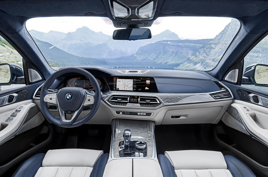 BMW X7 2019 first drive review - cabin
