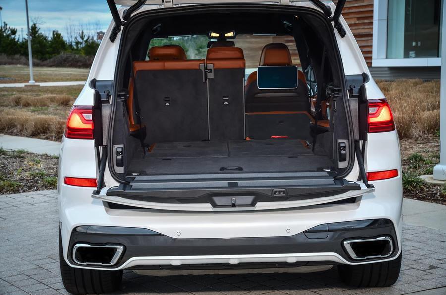 BMW X7 M50i 2020 : premier bilan de conduite - démarrer