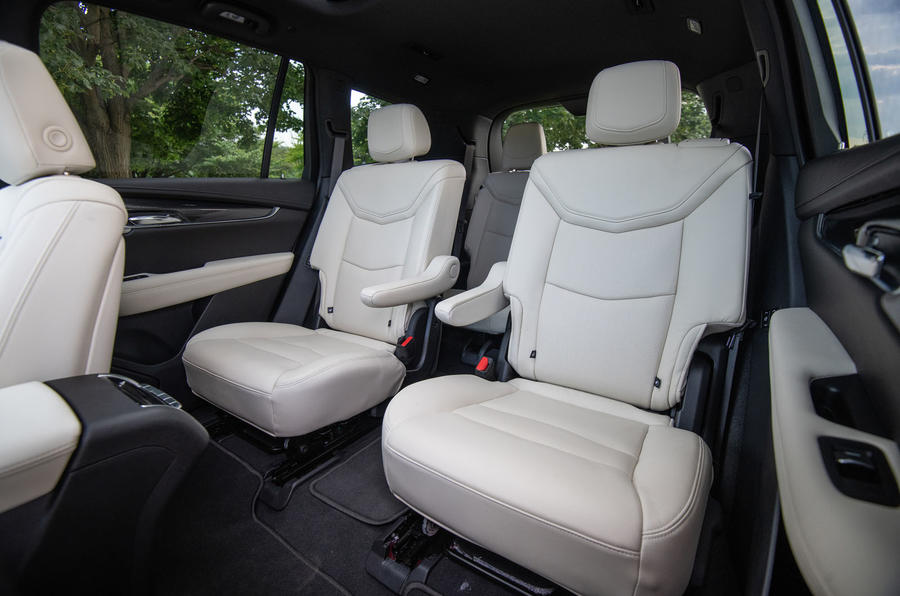 Cadillac XT6 Sport 2020 first drive review - middle row seats