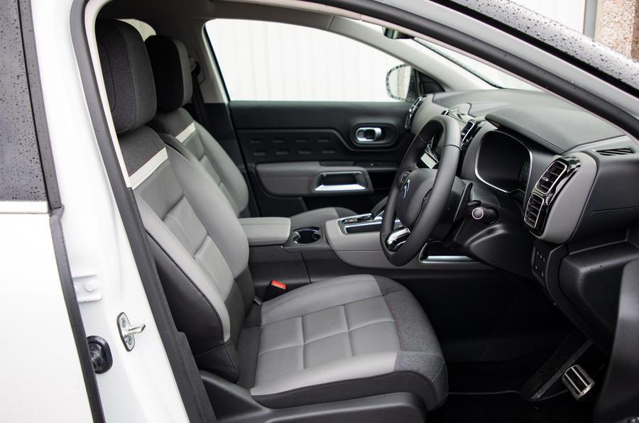 Citroen C5 Aircross Hybrid 2020 UK first drive review - cabin