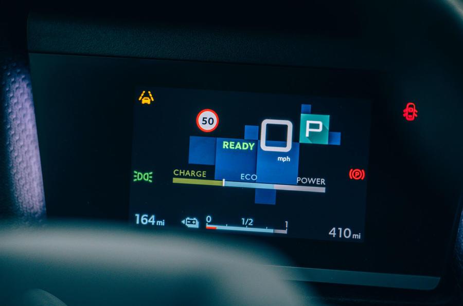 Citroen e C4 2020 LHD first drive review - instruments