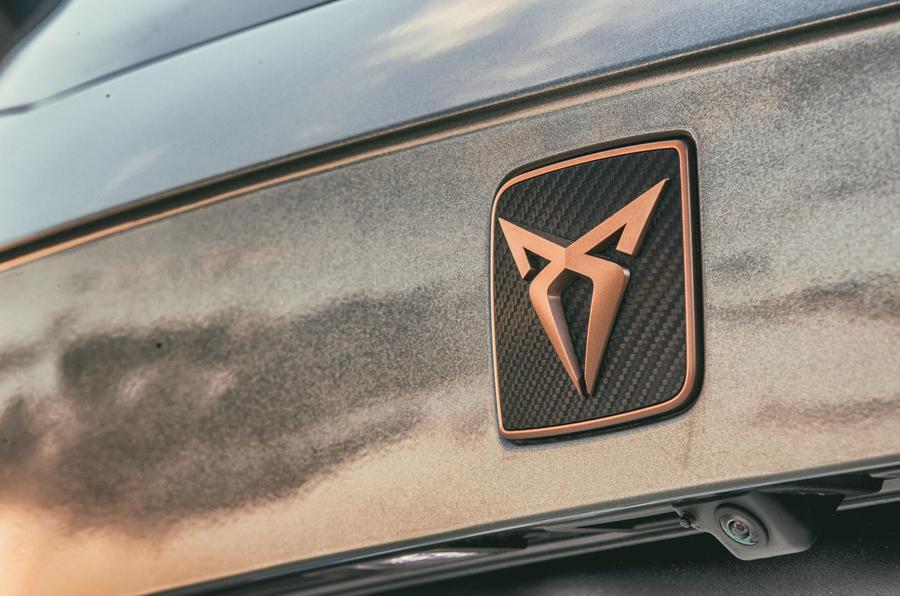 Cupra Ateca 2018 first drive review - boot badge