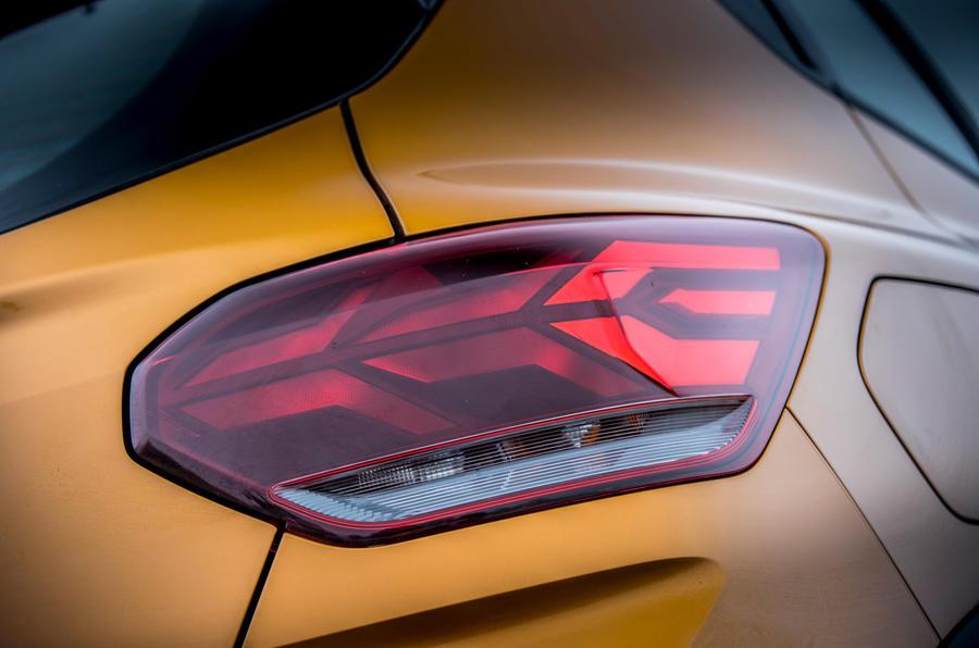 8 Dacia Sandero Stepway 2021 : premier examen des feux arrière au Royaume-Uni
