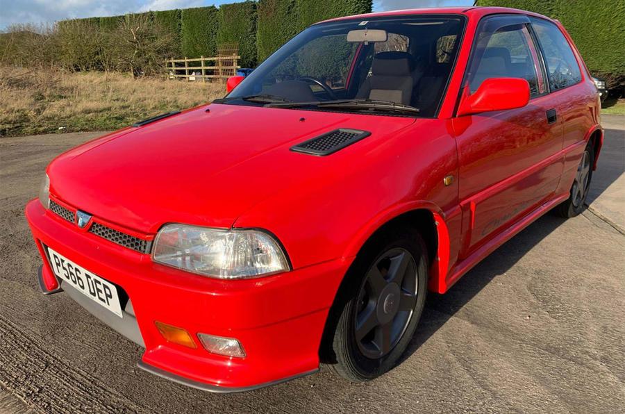 Daihatsu Charade de Tomaso GTI - front