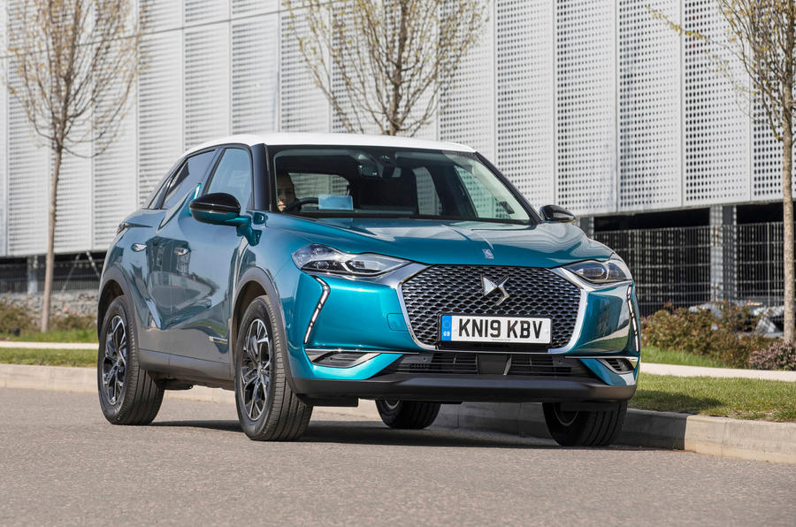 DS 3 Crossback 2019 UK first drive review - static front