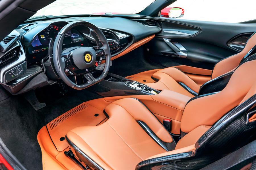 Ferrari SF90 Stradale 2020 first drive review - dashboard
