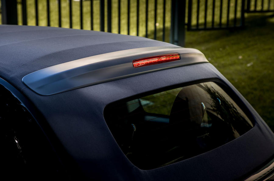 Fiat 500 electric 2021 first drive review - rear brake light
