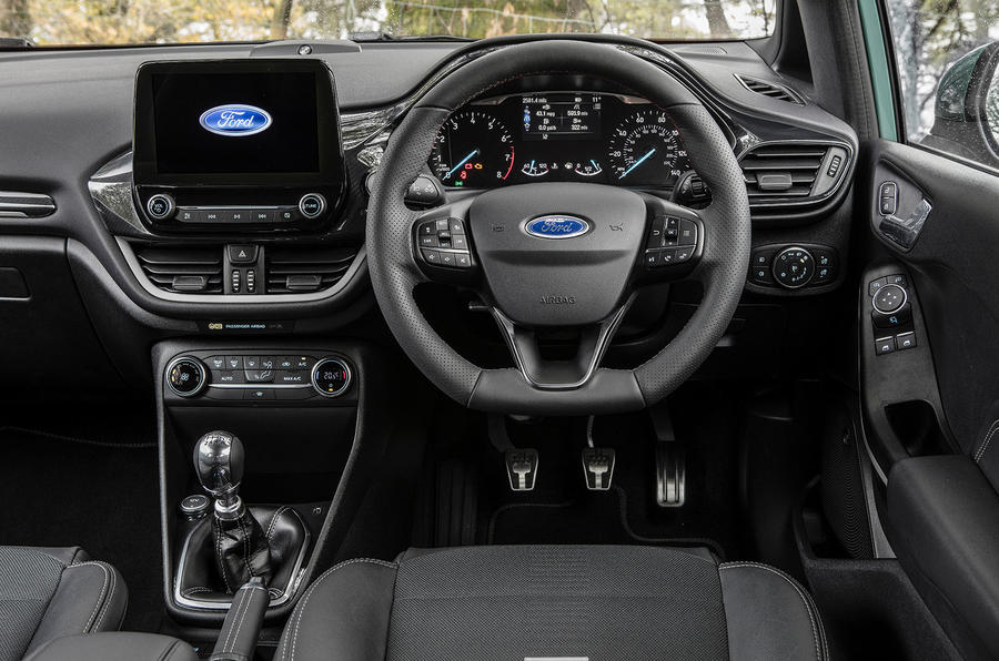 Autocar writers car of 2020 - Ford Fiesta dashboard