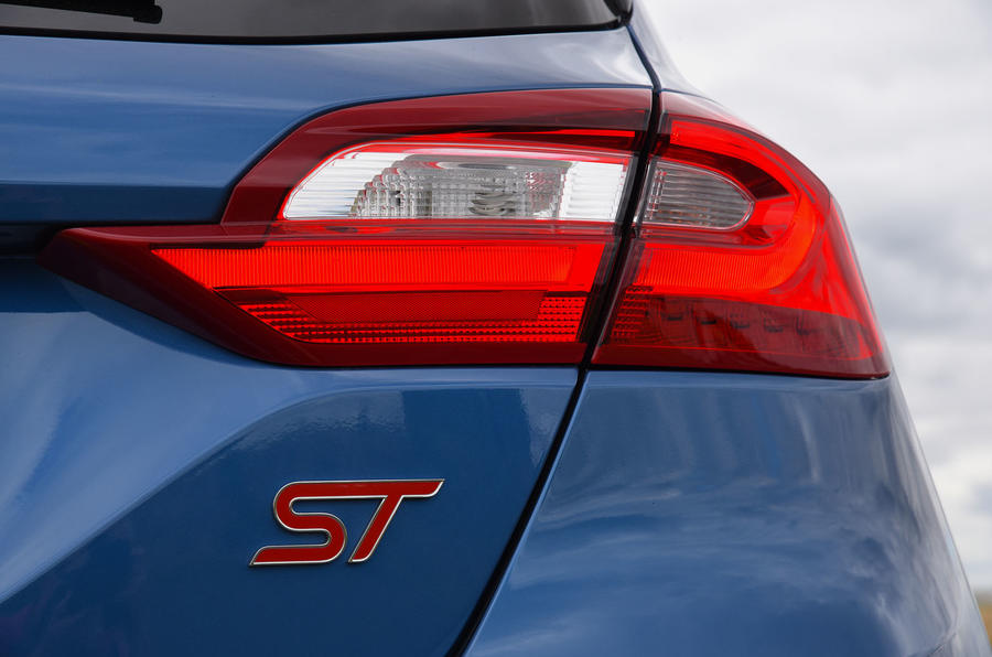 Ford Fiesta ST 2019 long-term review - rear lights