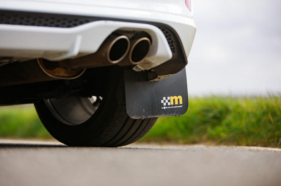 Ford Fiesta ST Mountune m235 2020 first drive review - exhaust
