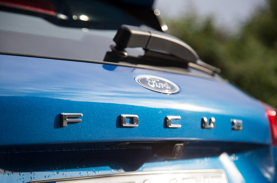 Ford Focus 2018 first drive review boot badges