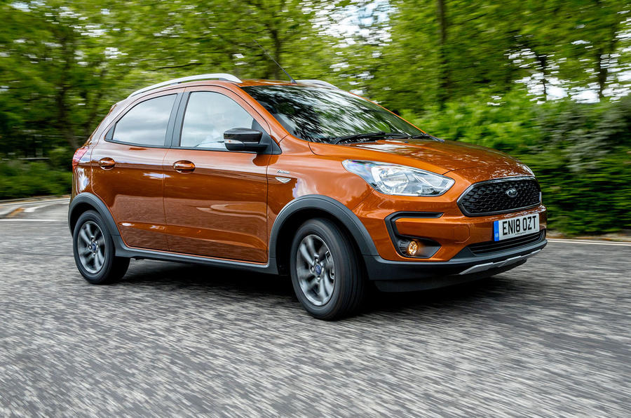 Ford Ka+ Active 2018 first drive review on the road
