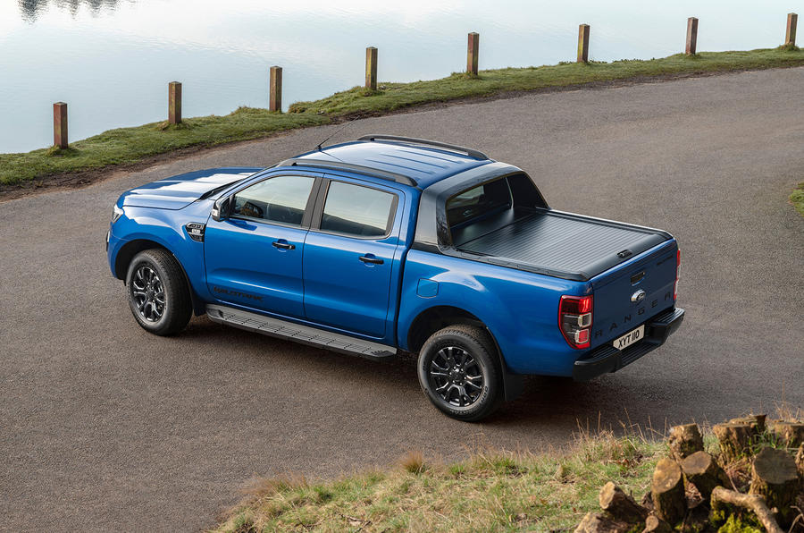 Ford Ranger Wildtrak X 2018 first drive review - static flatbed