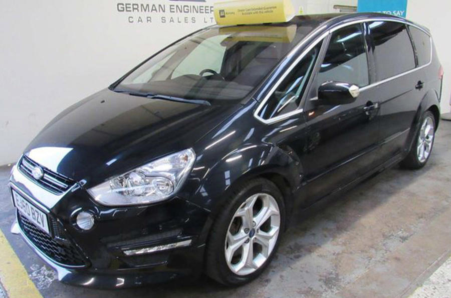 Ford S-Max - static front