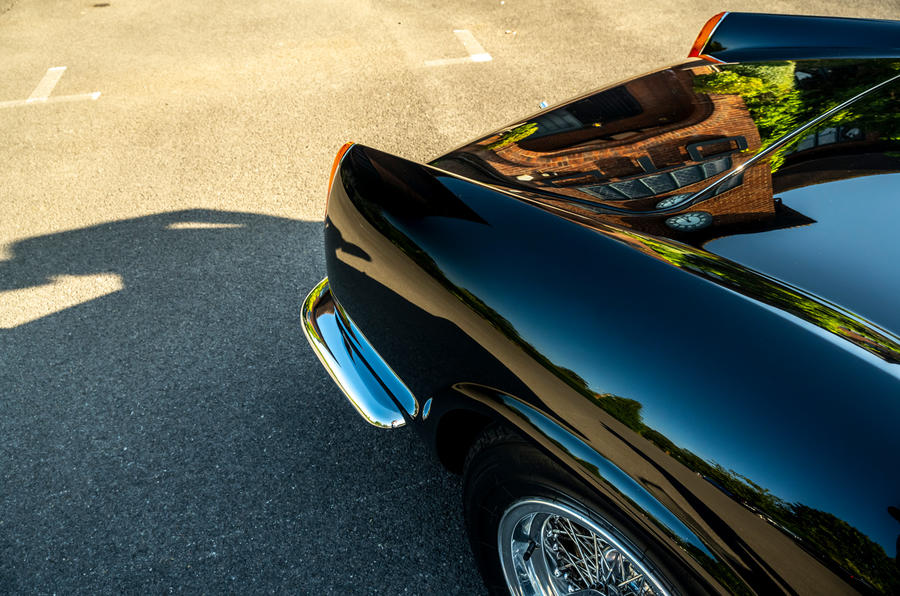 8 GTO California Spyder revival 2021 UE FD arches arrière