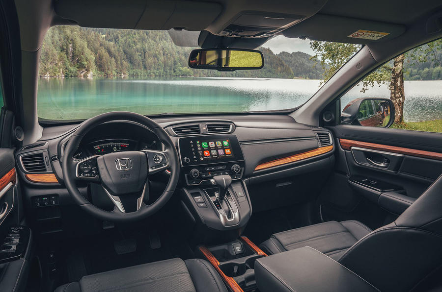 Honda CR-V 2018 first drive review cabin