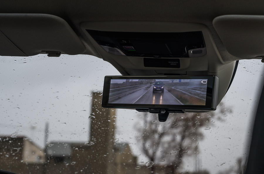 Honda e 2020 first drive review - digital rear view mirror