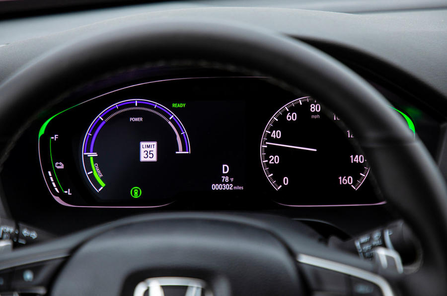 Honda Insight 2019 first drive review - instruments