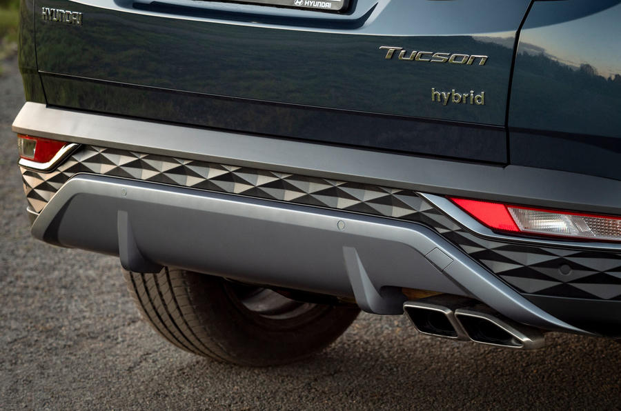 Hyundai Tucson 2020 UK first drive review - exhausts