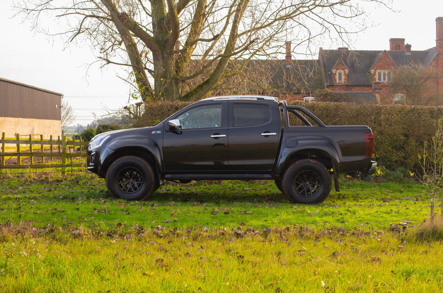 Isuzu D-Max Arctic Trucks 2020 UK first drive review - static side