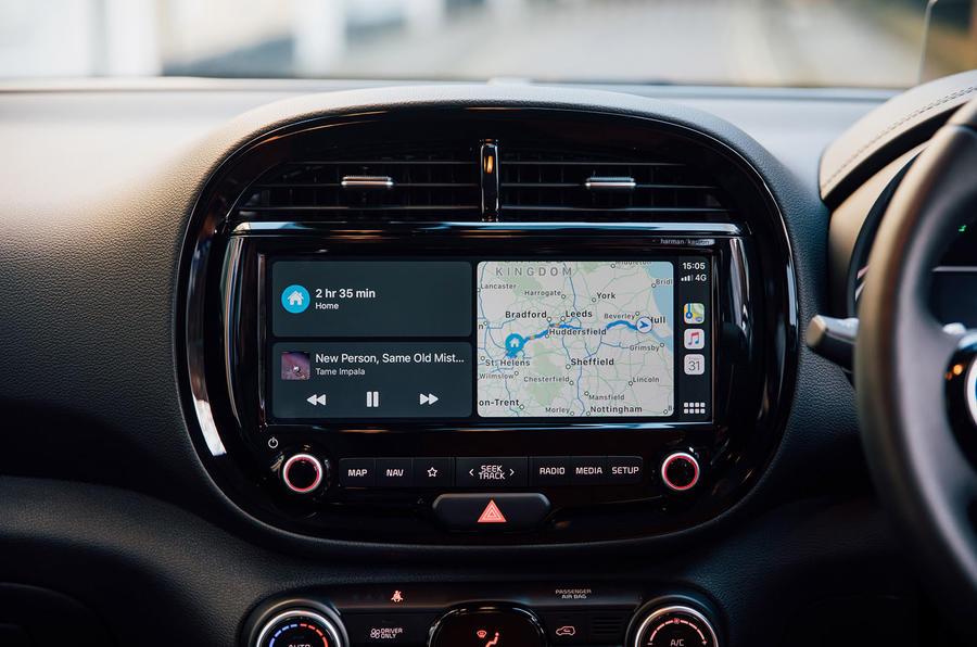 Kia Soul EV 2020 : premier bilan de la conduite au Royaume-Uni - infotainment