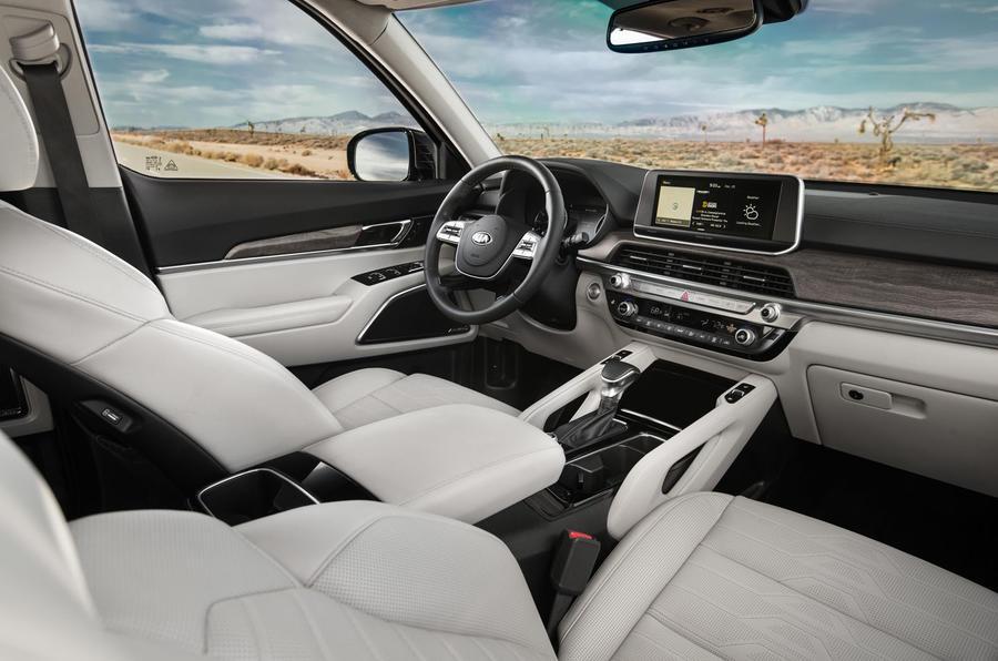 Kia Telluride 2019 first drive review - dashboard