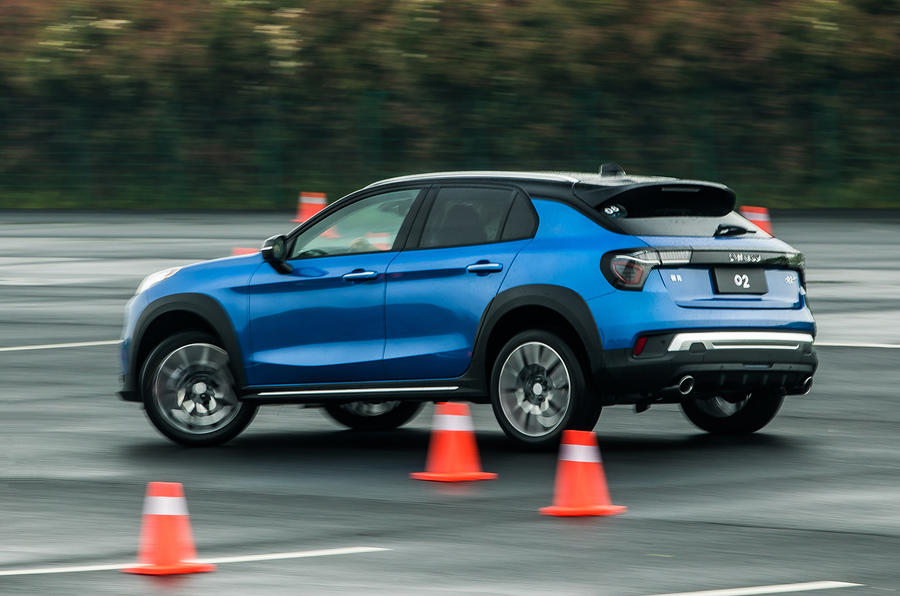 Lynk & Co prototype test track