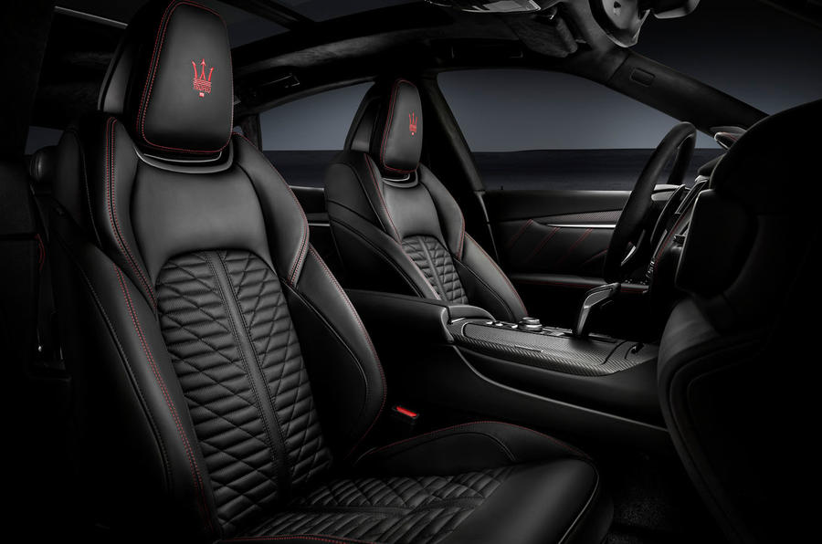 Maserati Levante Trofeo 2019 first drive review - front seats