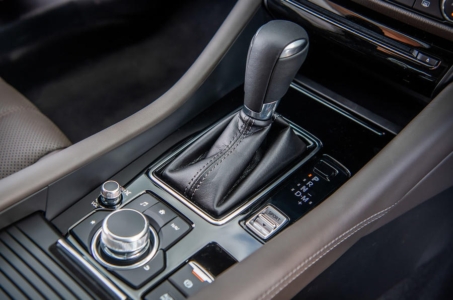 Mazda 6 2018 first drive review gearstick