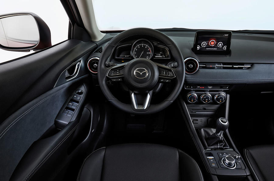 Mazda CX-3 2018 first drive review dashboard