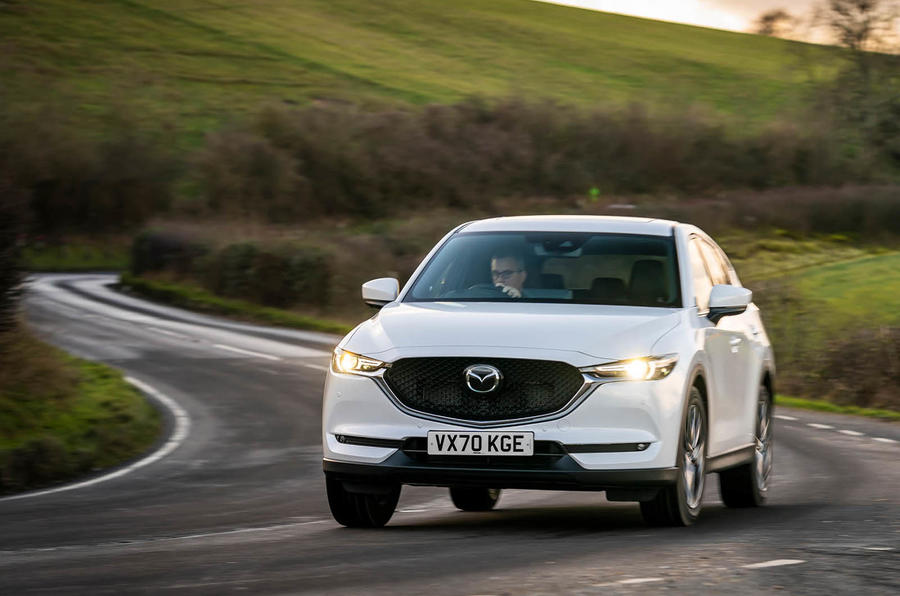 8 Mazda CX 5 2021 : premier examen de conduite au Royaume-Uni
