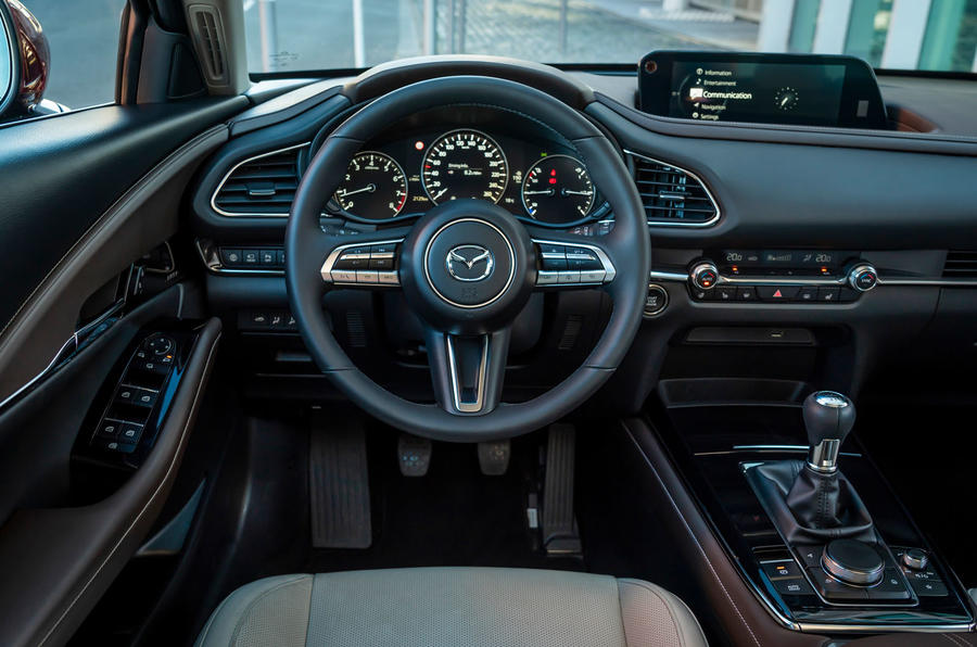 Mazda CX30 2019 first drive review - dashboard