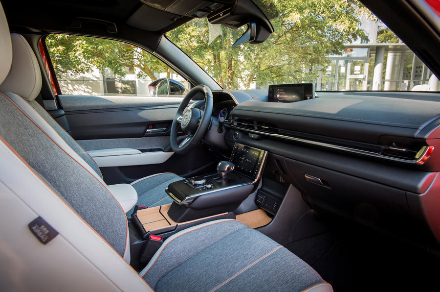 Mazda MX-30 2020 UK first drive review - cabin