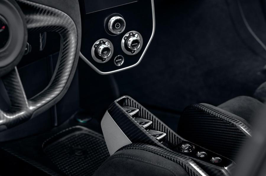 McLaren Senna 2018 UK first drive review interior