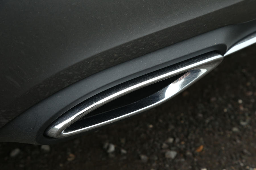 Mercedes-Benz A-Class 2018 long-term review - exhaust