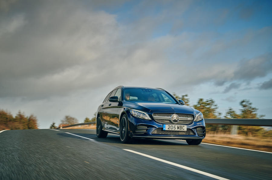 mercedes-amg-c43-estate-uk-fd-2019-front-action