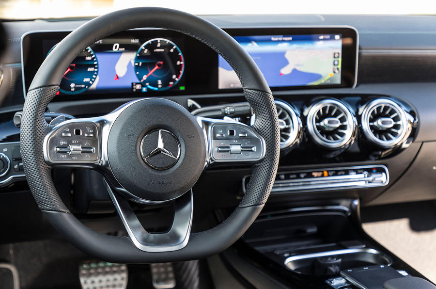 Mercedes-Benz CLA 2019 first drive review - dashboard