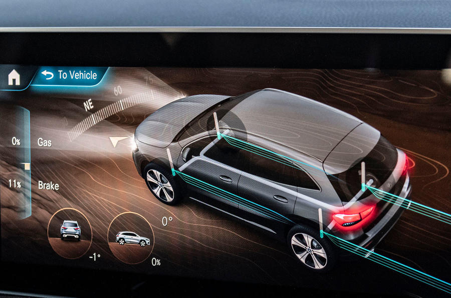Mercedes-Benz GLA 2020 UK first drive review - infotainment