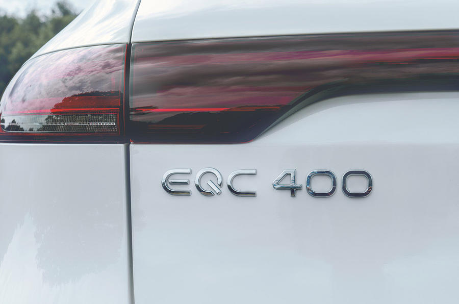 Mercedes-Benz EQC 400 2019 UK first drive review - rear lights