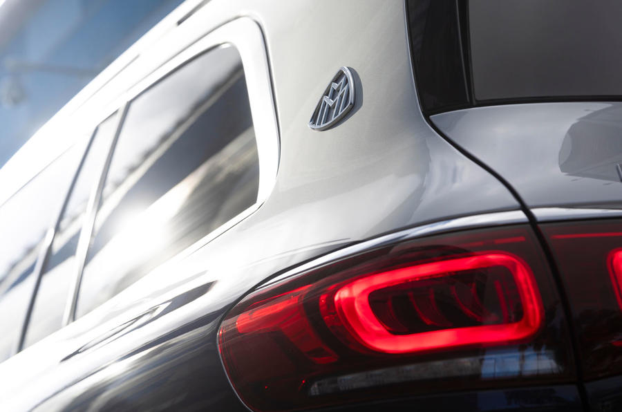 Mercedes-Maybach GLS 600 2020 first drive review - rear badge