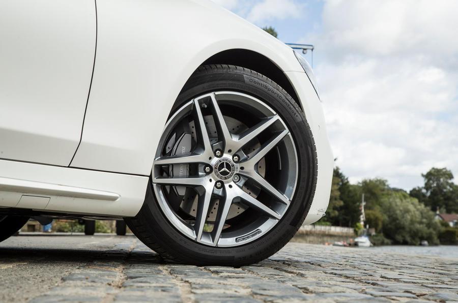 Mercedes-Benz S-Class S500L 2018 long-term review - alloy wheels
