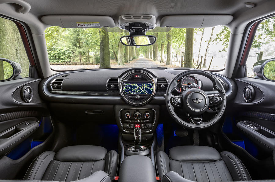 Mini Clubman Cooper 2019 first drive review - dashboard