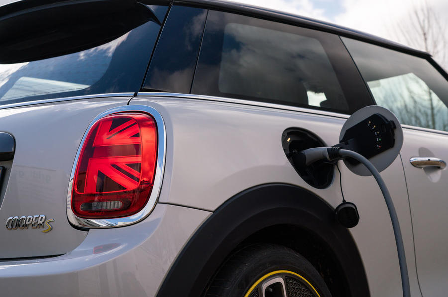 Mini Electric 2020 UK first drive review - charging port