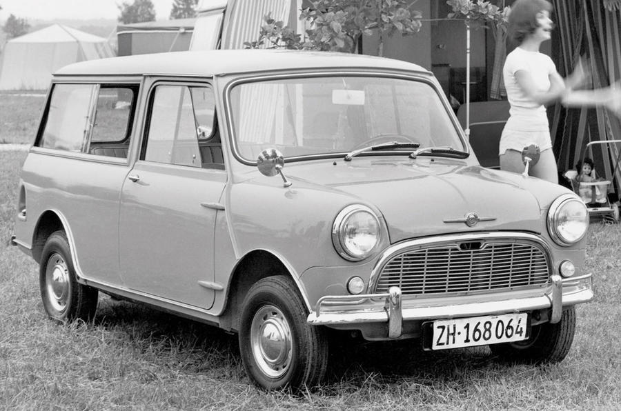 Mini Traveller original - static front