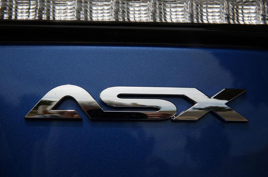 Mitsubishi ASX 2019 first drive review - rear badge