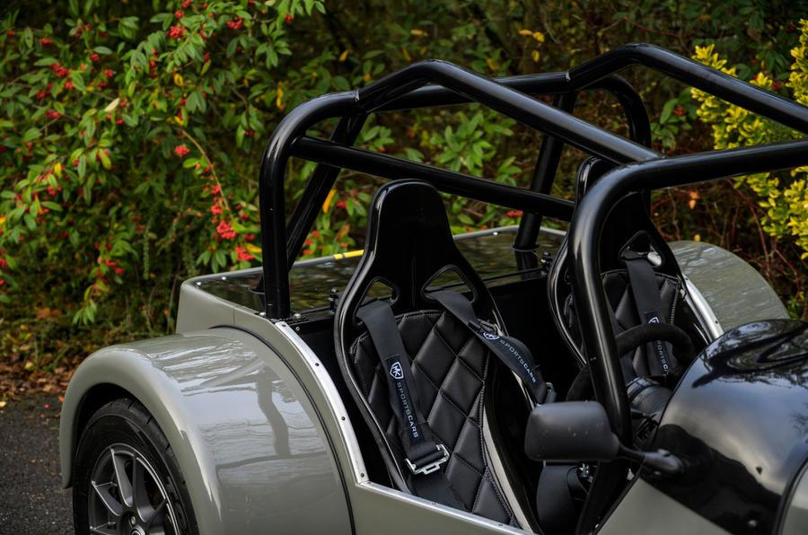 8 MK Indy Hayabusa 2021 UE première cage de retournement pour l'examen de l'entraînement