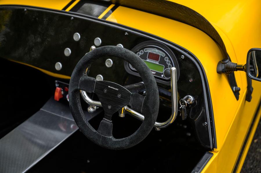 8 MK Indy RR Hayabusa 2021 UE premier tableau de bord