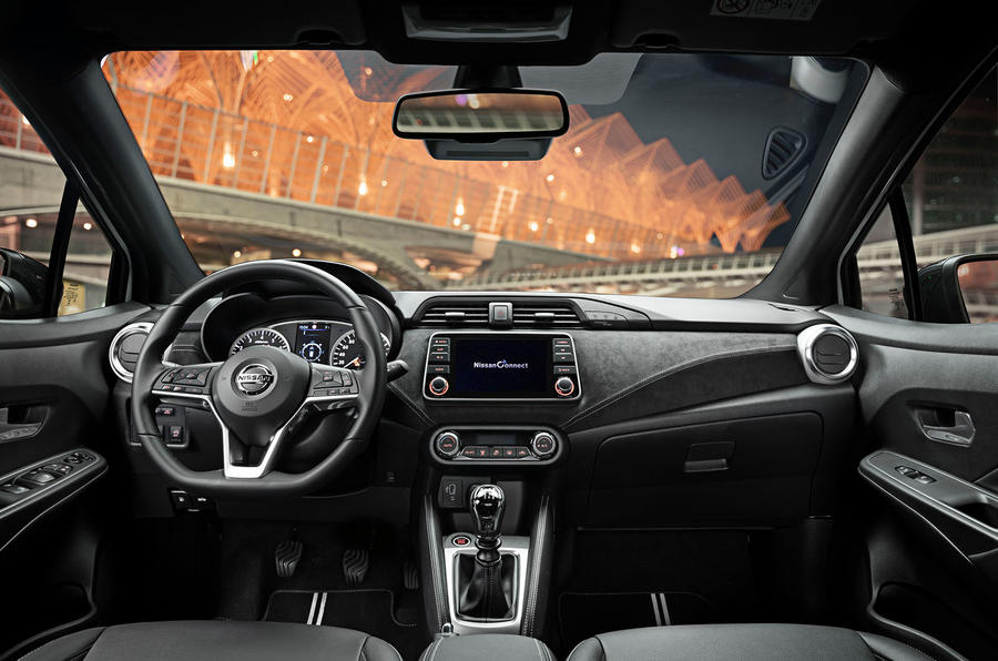 Nissan Micra 2019 first drive review - dashboard
