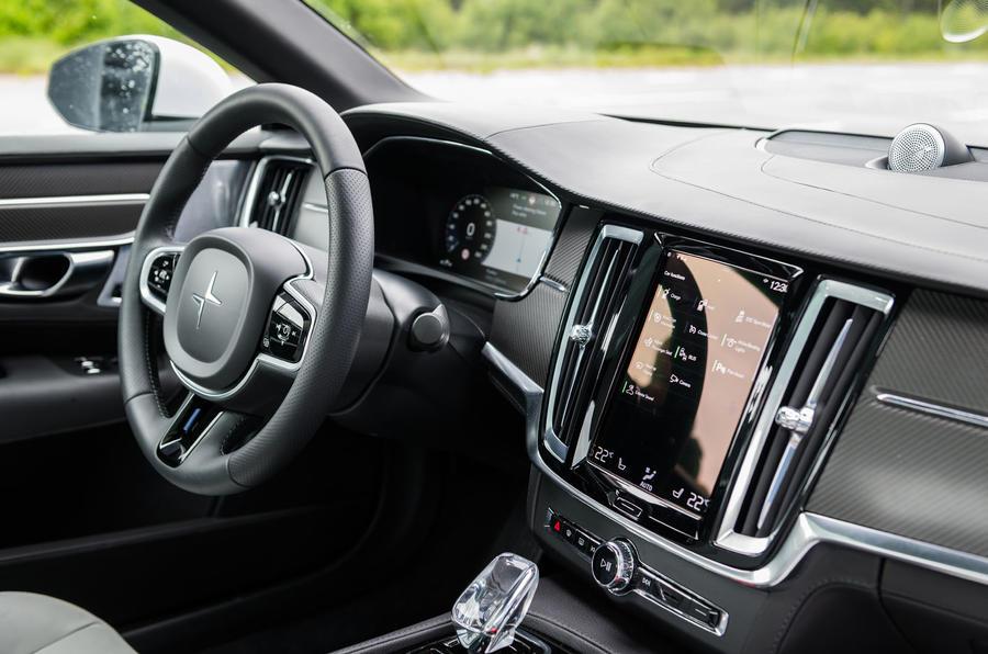 Polestar 1 2019 first drive review - infotainment