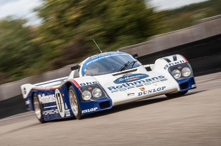 Porsche 962 - front
